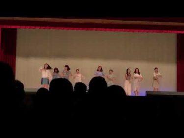文化祭 TWICEダンス
