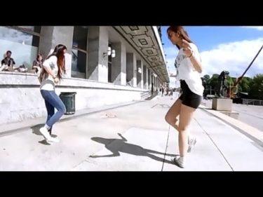 【神業ダンス!!!】 女子のシャッフルダンスステップがかっこいい!!! Vol.4