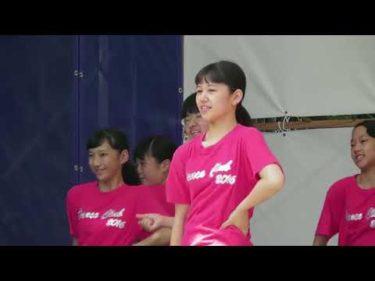 土佐女子中・高校ダンス部 2017年土佐 風土祭りのイベントにて 前編