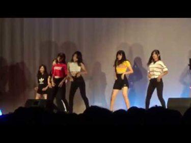 【文化祭】有志 ダンス TWICE/RedVelvet/BLACKPINK/MOMOLAND