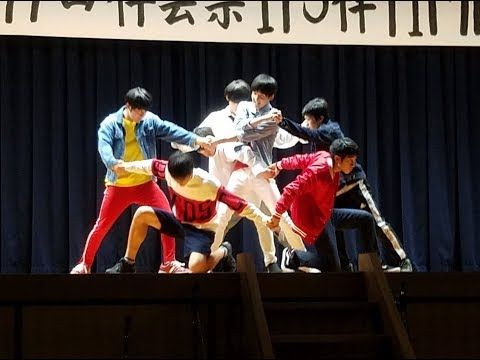 高校 文化祭 BTS/防弾少年団(방탄소년단) 有志 DNA 完コピ