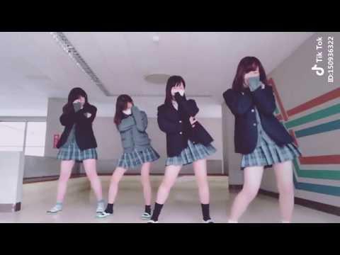 TIK TOK 流行りの女子高生動画まとめてみた!!