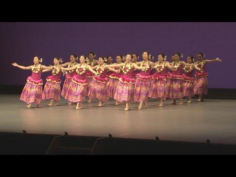 日本一競う「フラ甲子園」開幕 福島、高校生がダンス競技会