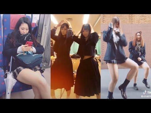 【Tik Tok】女子高生💓制服💓かわいすぎ!💓縦長動画💓20個
