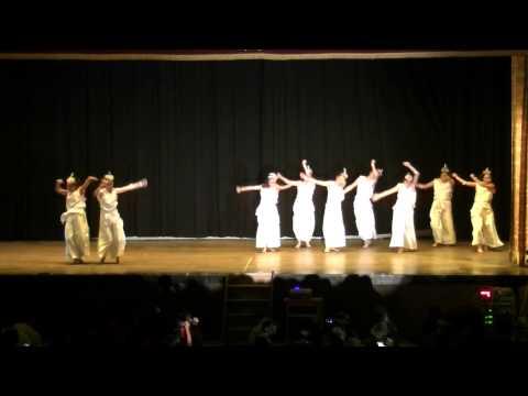 汎愛祭(文化祭)2014 オープニングのラスト 汎愛高校ダンス部