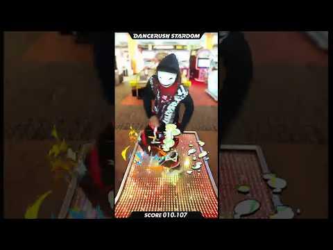 仮面のシャッフラーが最新のダンスゲームでButterflyを踊ったらこうなる  #DANCERUSH_STARDOM