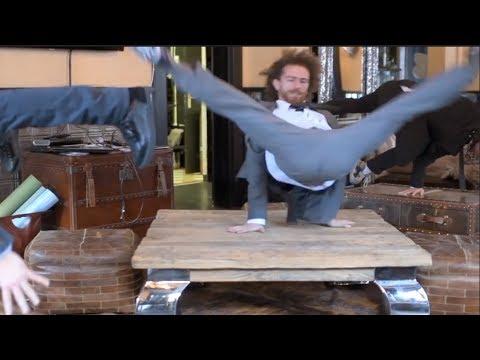 スーツでブレイクダンスする男達がかっこいい!【Video Pizza】衝撃のラスト!?