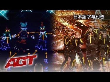 【和訳】光の芸術、近未来感溢れるライト・バランスのダンス!