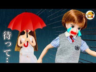 雨女… ハルトに襲いかかる黒髪の女の人!!雨が降る日は注意… 女子には見えない!?