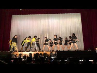 2年生ショー [強盗と警察] 2019 八王子東高校ダンス部 文化祭公演❽