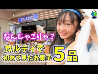 【カルディ】中1女子が初めて見た食品5品を徹底レビュー♪タピオカも!【ももかチャンネル】