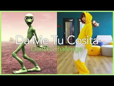 今流行のダンス踊ってみた!【Dame Tu Cosita Challenge】