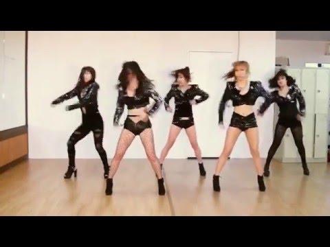 )の世界女子WAVEYA韓国ダンスグループのカバーダンス