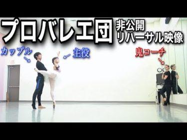 【本気バレエ】僕のリハーサル現場をVLOGで全てお見せします(ヤマカイxネレア )