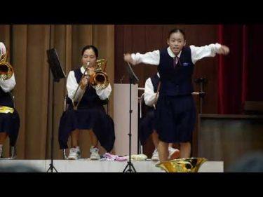 北中文化祭 吹奏楽部コラボ 嵐メドレー 即興ダンサーズ