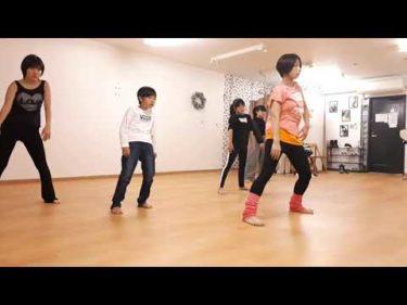 ダンスの基礎アイソレーション