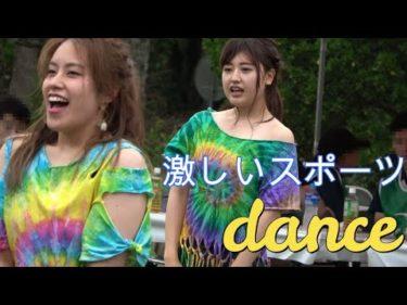 4k!ダンス!dance!激しいスポーツ!踊り終えるとヘトヘトに!!122