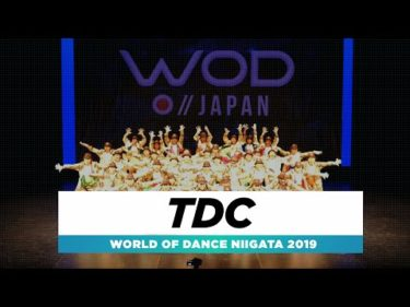 TDC | 1st Place Team | World of Dance Niigata 2019 | #WODNiigata19